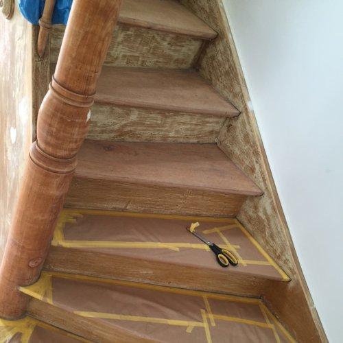 1 Renovierung Treppe